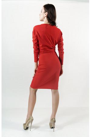 Платье «Заря» красного цвета