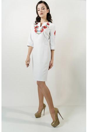 Сукня «Квітуче поле» білого кольору