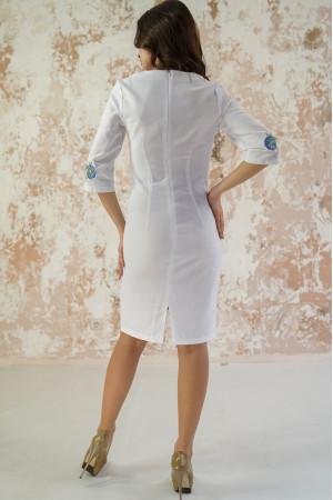 Сукня «Волошкові мрії» білого кольору