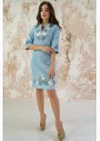 Сукня «Волошкові мрії» блакитного кольору