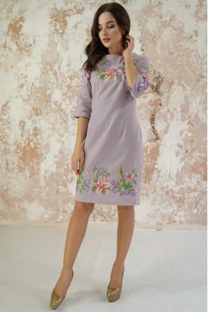 Платье «Лилия» сиреневого цвета