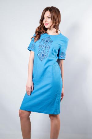 Сукня «Елегія» кольору електрик