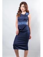Платье «Мечта» синего цвета