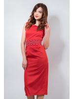 Платье «Мечта» красного цвета