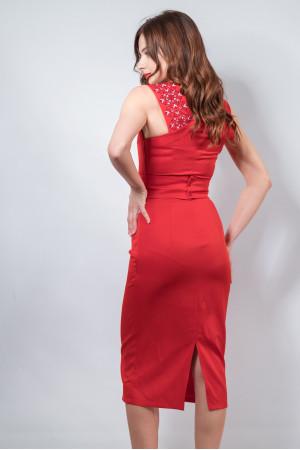 Сукня «Мрія» червоного кольору