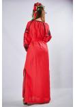 """Сукня """"Фантазія"""" червоного кольору"""