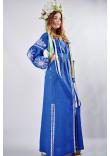 """Сукня """"Фантазія"""" синього кольору"""