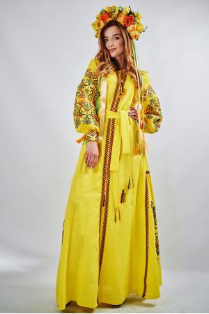"""Платье """"Фортуна"""" желтого цвета"""