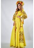 "Сукня ""Фортуна"" жовтого кольору"