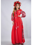 """Сукня """"Фортуна"""" червоного кольору"""