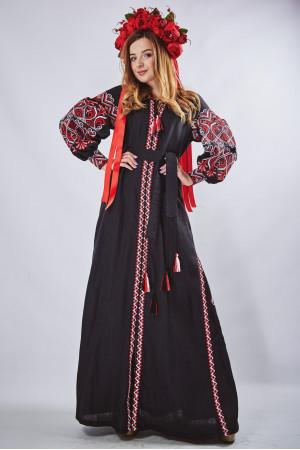 """Платье """"Фортуна"""" черного цвета"""