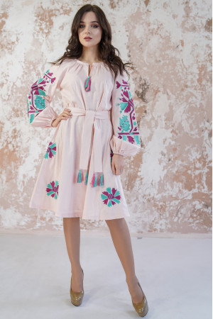 Сукня «Магія» персикового кольору