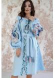 Сукня «Птаха» блакитного кольору