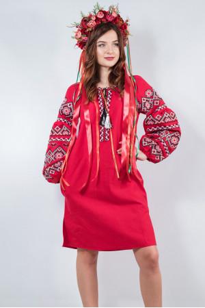 Сукня «Казка» вишневого кольору
