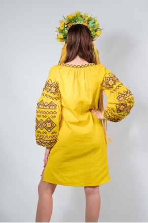 Сукня «Казка» жовтого кольору