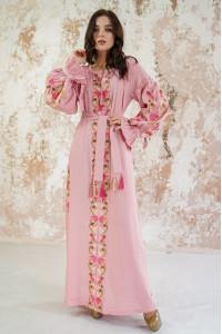 Сукня «Світанкові роси» кольору пудри