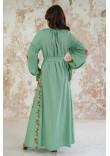 Сукня «Світанкові роси» фісташкового кольору