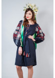 Сукня «Чарівність» темно-синього кольору
