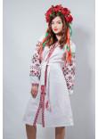 Сукня «Оберіг» білого кольору