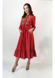 Сукня «Шепіт літа» червоного кольору