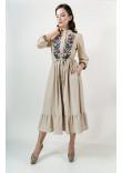 Сукня «Шепіт літа» бежевого кольору