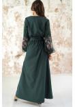 Сукня «Натхнення» смарагдового кольору