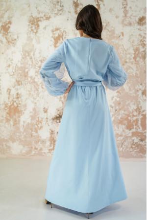 Платье «Вдохновение» голубого цвета