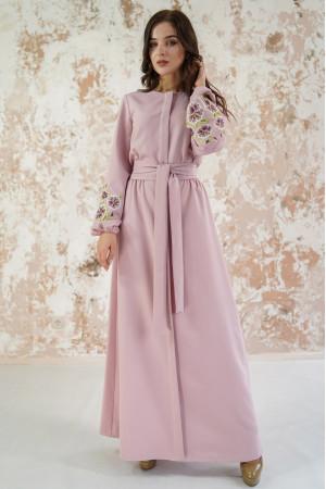 Платье «Мальвы» цвета пудры
