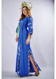 Сукня «Мотиви геометрії» кольору електрик