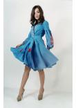 Сукня «Колорит» блакитного кольору