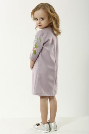 Платье для девочки «Лилия» сиреневого цвета