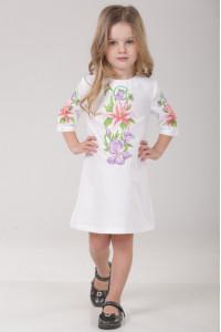 Сукня для дівчинки «Лілея» білого кольору