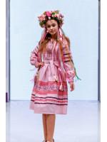 Сукня для дівчинки «Феєрія» рожевого кольору, довга