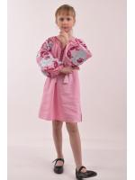 Платье для девочки «Левада» розового цвета