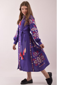 Сукня для дівчинки «Врода» фіолетового кольору