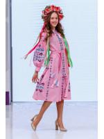 Платье для девочки «Врода» розового цвета