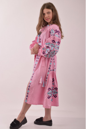 Сукня для дівчинки «Врода» рожевого кольору
