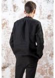 Чоловіча вишиванка «Чарівність» чорного кольору