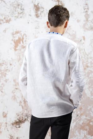 Чоловіча вишиванка «Чарівність» білого кольору