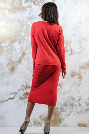 Костюм «Букет ромашок» червоного кольору