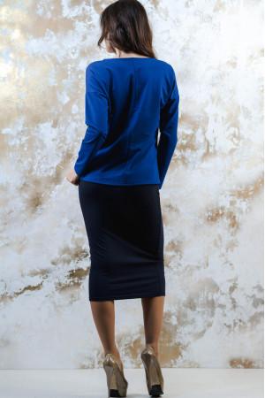 Костюм «Зоряний»: світшот синього кольору та спідниця темно-синього кольору