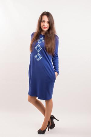 Платье «Звездное» синего цвета