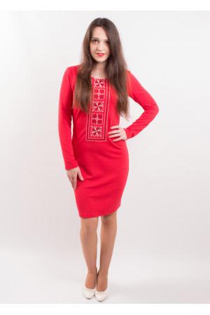 Сукня «Феєрія» червоного кольору