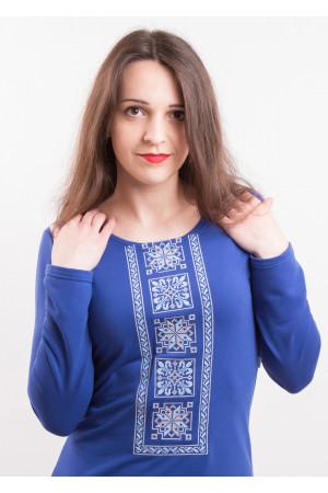 Платье «Феерия» синего цвета
