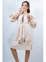 Платье «Очарование» цвета айвори