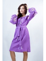 Платье «Очарование» фиолетового цвета