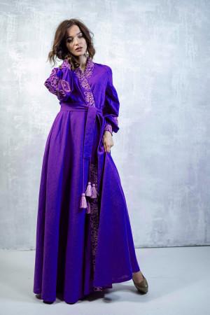 Сукня-халат «Марево ночі» фіолетового кольору