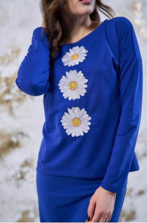 Костюм «Букет ромашек» синего цвета
