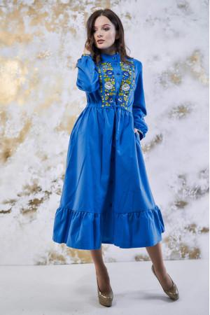 Сукня «Шепіт кольору» бордового кольору