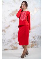 Костюм «Утонченность» красного цвета